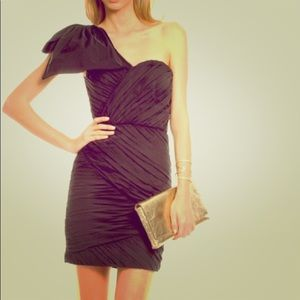 Little black Tracy Reese bow dress